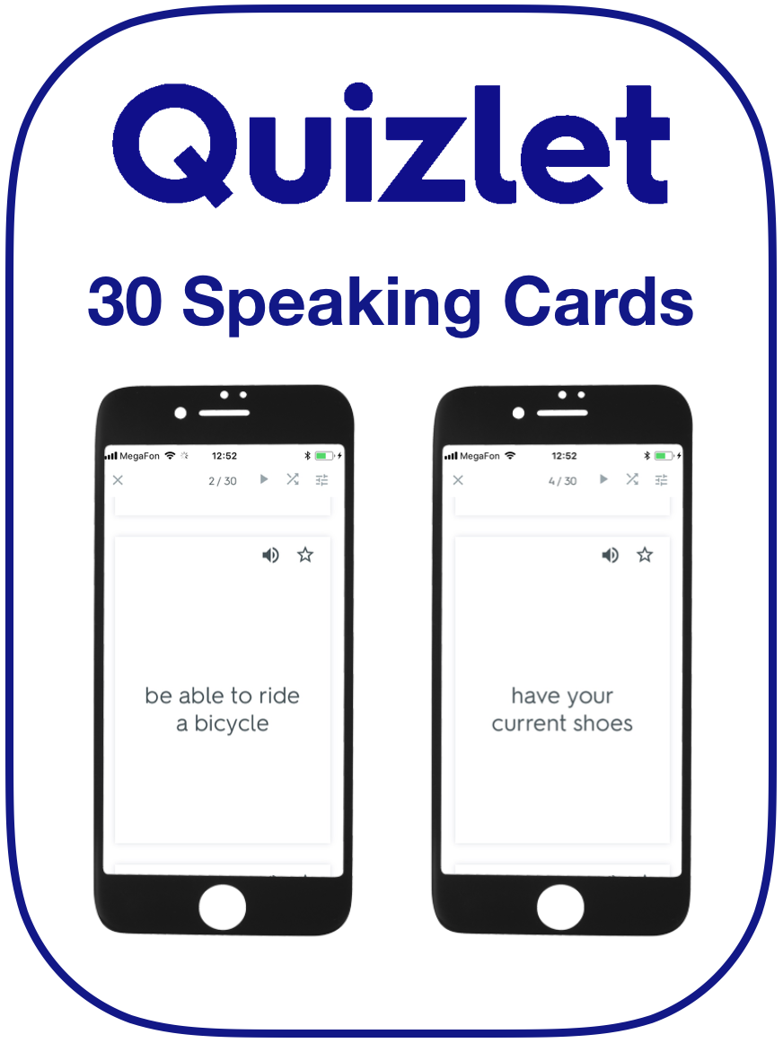 EFL Present Perfect Speaking Cards For Since