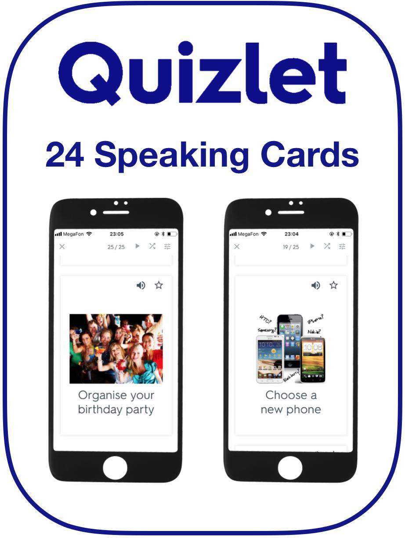 EFL Speaking Cards Causative Have Passive Voice