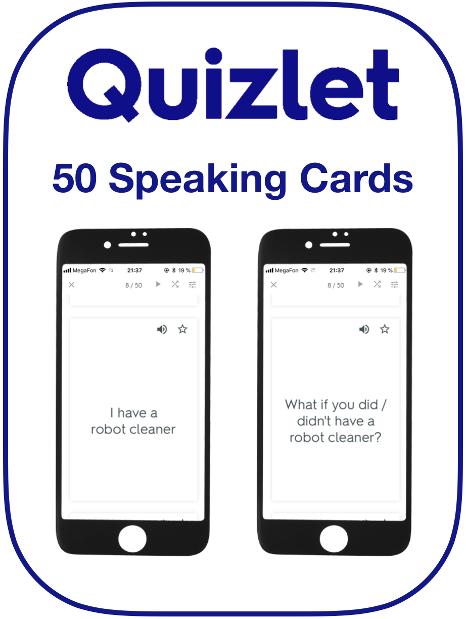 EFL Speaking Cards Second Conditionals
