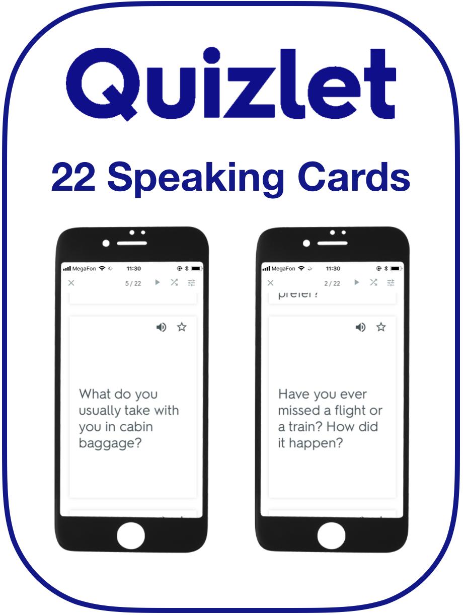 EFL Speaking Cards Journeys Travel
