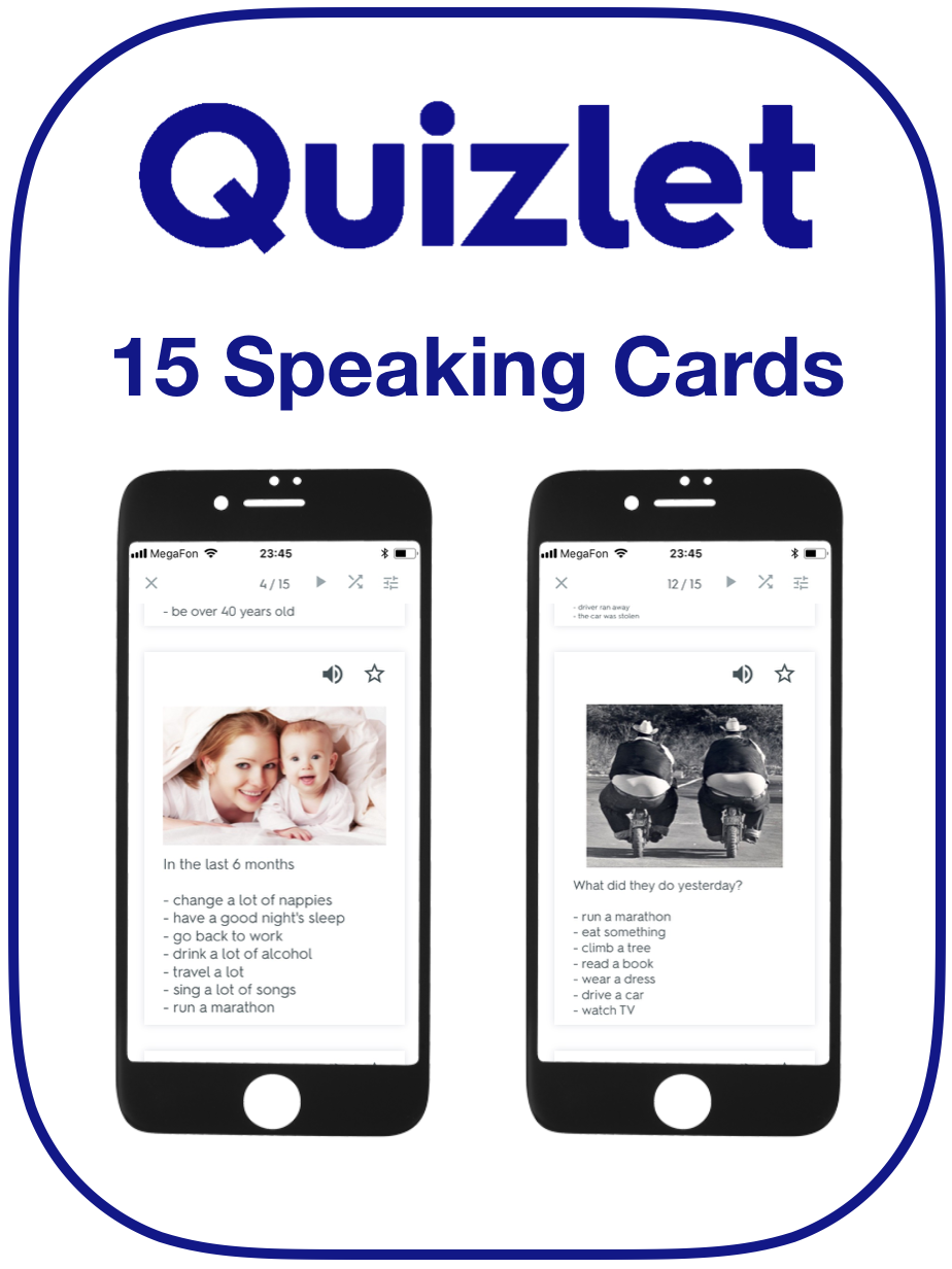 Modals of Deduction EFL Speaking Cards